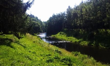 údolí Moravice